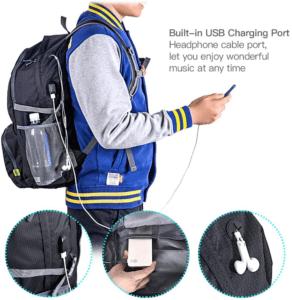 Il vous suffit de le plier pour qu'il prenne un espace minimal et le ranger sans son sac de rangement selon les tests comparatifs.