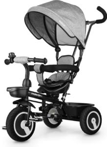 Ce tricycle évolutif a été conçu pour les enfants de 12 mois à 5 ans, car il supporte un poids maximal de 35 kg. Faites confiance aux avis des utilisateurs et faites le test.