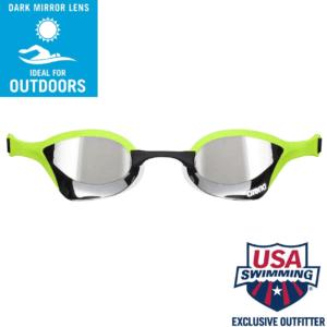 Les lunettes de piscine sont adaptées pour l'extérieur.