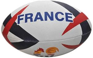 Un ballon idéal autant pour vos matchs amicaux, que pour l'exposer fièrement dans votre salon. Bref, un ballon de rugby d'exception, qui a l'affection de tous les amateurs de rugby en France.