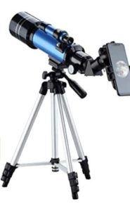 Le télescope est parfait pour découvrir le monde incroyable des étoiles.