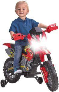 D'après les tests comparatifs, de nombreux modèles de moto enfant possèdent des design et motifs, inspirés de personnages de dessins animés, BD, super héros ou films d'animation pour enfants.