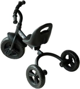 Avec une structure métallique stable et robuste, ce tricycle de la marque Homcom est également composé de certaines pièces en plastique et en tissu résistant. Les roues sont disposées de manière à ne pas abîmer les pieds des enfants, offrant ainsi une sécurité maximale.