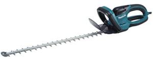 Un taille-haie se compose d'un moteur thermique ou électrique, qui génère le va-et-vient de l'outil.