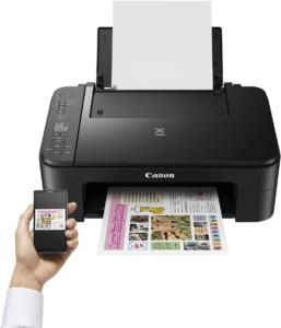 L'imprimante multifonction se connecte facilement à vos appareils sans fil.