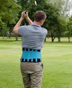 Les ceintures lombaires gonflables compriment le dos grâce à de petites cellules d'air, situées au niveau latéral, et sur la région lombaire.