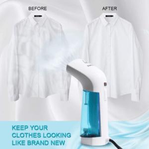 Selon l'avis et tests des clients le steamer peut être utilisé en toute sécurité avec tous les types de tissus.