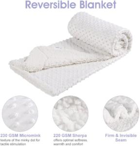 Les couvertures pour bébés doivent être choisies en fonction de la température et bien entendu de la saison de l'année.