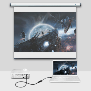 Les adaptateurs HDMI sont légers et ont une comptabilité universelle.
