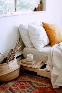Une belle literie donnera une touche particulière à votre chambre