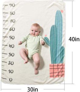 Une couverture bébé - le cadeau parfait pour la douche de bébé et la maman en attente. Faites le test !