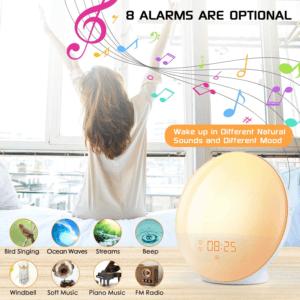 Gardez à l'esprit que les modèles analogiques servent uniquement d'horloge et de réveil tandis que les réveils numériques peuvent intégrer de nombreuses options.