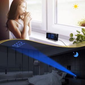Les réveils numériques n'émettent généralement pas de bruit, pour un meilleur sommeil.