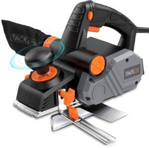 Les rabots électriques enlèvent le matériau à l'aide d'une lame.