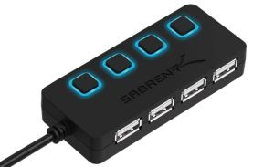 équipement de transfert de fichier doté de sorties USB 2.0 de 1ère génération