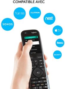 Avec cette télécommande vous pouvez gérer jusqu'à 15 dispositifs.