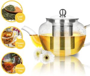 Cette théière vous permet d'infuser tout type de feuilles de thé en vrac en toute simplicité. Elle est une des meilleures manières pour tester de nouveaux mélanges.