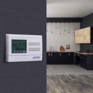 Gardez le contrôle sur la température dans votre maison ou appartement grâce à votre thermostat ambiance.
