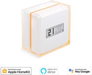 ous pouvez connecter votre thermostat d'ambiance directement à votre téléphone portable et y gérer la température.