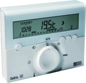 Le thermostat d'ambiance vient avec deux modes: mode froid et mode chaud.