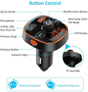 Le transmetteur FM bluetooth vous offre beaucoup de fonctionnalités différentes. Faites le test grâce aux nombreux comparatifs existants !