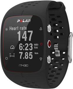 La montre de sport Polar M430.