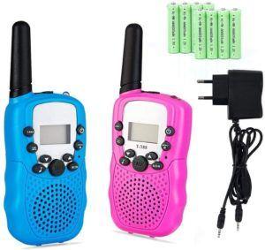 La talkie-walkie est très utile dans les endroits où le réseau habituel ne passe pas
