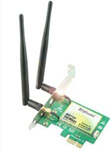 la carte réseau wifi permet à ces utilisateurs d'obtenir une meilleure connexion internet.