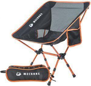 Une bonne chaise pliante est pratique et facile à transporter