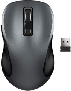 Avec son design sobre, cette souris sans fil en séduira plus d'un