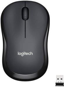 Une souris sans fil de Logitech compacte