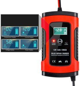 Booster chargeur batterie voiture intelligent portable
