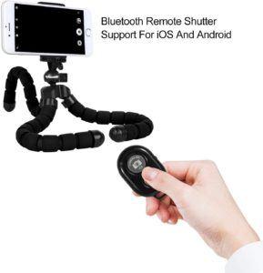 Grâce à une télécommande bluetooth, vous pouvez déclencher l'appareil photo à tout moment, prouvé et testé par les professionnels !