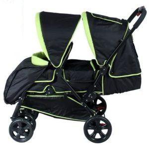 Les poussettes doubles sont nées pour faciliter le transport de deux enfants selon les tests comparatifs