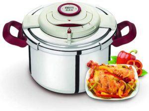 Marmite chauffante programmable pour la cuisson des aliments.