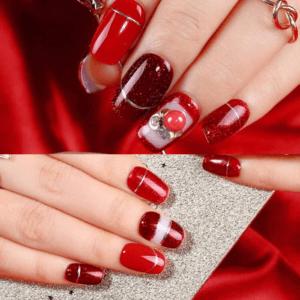 Sublimez vos ongles avec ces magnifiques nuances de rouges.