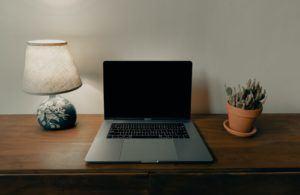 Un ordinateur portable de 14 pouces offre la possibilité de jouer des jeux vidéo, de travailler efficacement et de regarder des films.