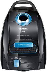L'aspirateur à sac de Siemens est très efficace.