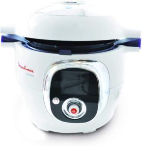 Machine de cuisson capable d'utiliser six modes de cuisson.