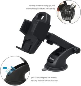 En fonction des dimensions de votre dispositif, mieux vaut opter pour des modèles fixes qui s'adapteront à la taille de votre téléphone.