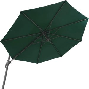 Parasol adapté pour couvrir pendant les belles journées ensoleillées.