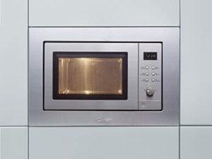 Micro onde encastrable grill en inox.