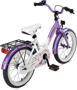 Il est livré sans petites roues et il faut fixer les pédales et le petit panier à la réception du colis. Mais il en vaudra la peine car votre enfant pourra l'utiliser approximativement jusqu'à ses neuf ans. C'est un vélo résistant, de bonne qualité. Il est fabriqué en acier, même si le cadre est en aluminium.