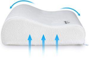 L'oreiller à mémoire de forme convient aux adultes comme aux enfants.