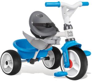 Le tricycle bébé vient avec une ceinture pour garder votre bébé en meilleure sécurité!