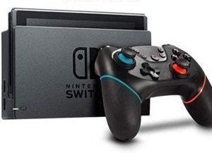 Manette de jeux vidéo ergonomique et légère.