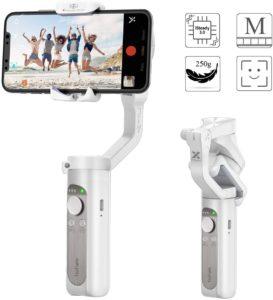 Ce stabilisateur smartphone motorisé offre une excellente stabilité.