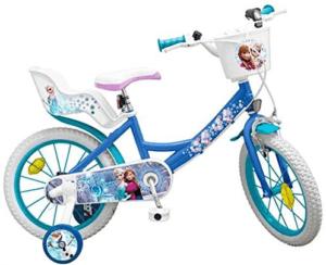 Le vélo pèse 10 kg et n'est donc pas toujours facilement porté par un enfant. Il est multicolore et a une sonnette. Le vélo est solide, de bonne qualité et ne requière qu'un minimum de montage lors de la livraison.