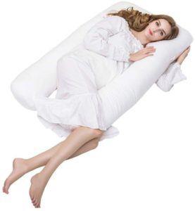 Conçu à l'origine pour les femmes enceintes et allaitantes, l'oreiller aide également les dormeurs sur le côté, soutient le ventre, les bras et le cou et soulage la douleur et l'inconfort.