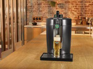 Rien de tel qu'une bière fraîche, fraîchement servie.